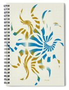 3d Spiral Art Spiral Notebook