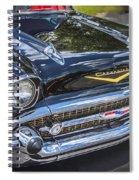 1957 Chevrolet Bel Air Spiral Notebook