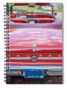 1963 Ford Falcon Sprint Convertible  Spiral Notebook