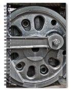 4-8-8-4 Wheel Arrangement Spiral Notebook