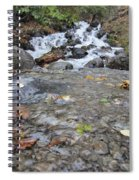 Alaskan Waterfall Spiral Notebook