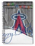 Anaheim Angels Spiral Notebook