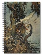 Andersen: Little Mermaid Spiral Notebook