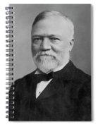Andrew Carnegie (1835-1919) Spiral Notebook