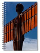 Angel Of The North Spiral Notebook