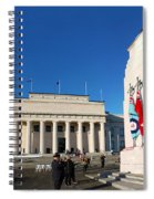 Anzac Day 2014 Auckland Spiral Notebook