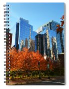 Autumn In Boston Spiral Notebook