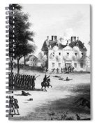 Battle Of Germantown, 1777 Spiral Notebook