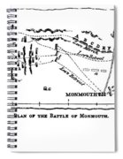 Battle Of Monmouth, 1778 Spiral Notebook