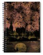 Big Ben On The River Thames Spiral Notebook