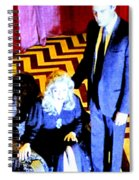 Black Lodge Spiral Notebook