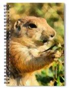 Black-tailed Prairie Dog Spiral Notebook