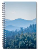 Blue Ridge Parkway Winter Scenes In February Spiral Notebook