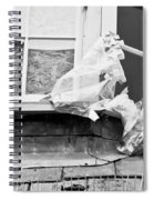 Boarded Up Window Spiral Notebook