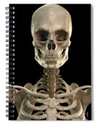 Bones Of The Head And Upper Thorax Spiral Notebook