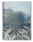 Boulevard Des Capucines Spiral Notebook