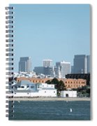 Buildings At The Waterfront, San Spiral Notebook