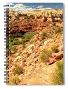 Calf Creek Falls Canyon Spiral Notebook