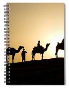 Camel Caravan, India Spiral Notebook