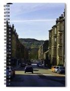 Car In A Queue Waiting For A Signal In Edinburgh Spiral Notebook