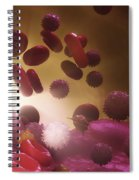 Cells Of The Immune System Spiral Notebook
