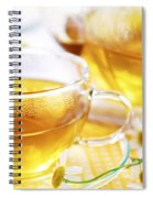 Chamomile Tea Spiral Notebook