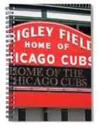 Chicago Cubs - Wrigley Field Spiral Notebook