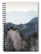 Chinese White Pine On Mt. Huangshan Spiral Notebook