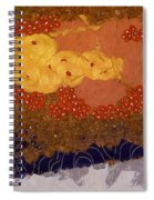 Christmas Background Spiral Notebook