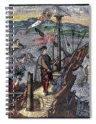 Christopher Columbus (1451-1506) Spiral Notebook