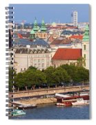 City Of Budapest In Hungary Spiral Notebook
