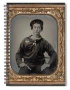 Civil War Sailor, C1863 Spiral Notebook
