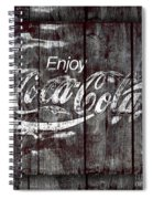 Coca Cola Sign Spiral Notebook