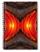 Color Fashion Abstract Spiral Notebook