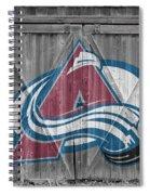Colorado Avalanche Spiral Notebook