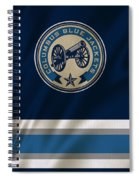 Columbus Blue Jackets Uniform Spiral Notebook