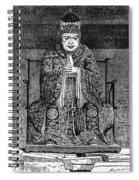 Confucius (c551-479 B Spiral Notebook