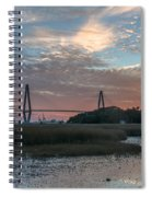 Charleston Cooper River Bridge Spiral Notebook