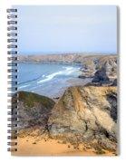 Cornwall - Bedruthan Steps Spiral Notebook
