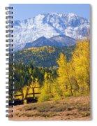 Crystal Lake On Pikes Peak Spiral Notebook