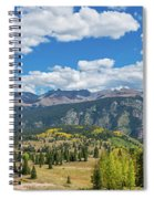 Elevated View Of Trees On Landscape Spiral Notebook