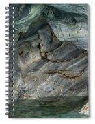 Eroded Marble Shoreline Spiral Notebook