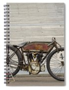 Excelsior Board Track Racer II Spiral Notebook