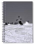 First Run Spiral Notebook