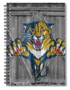 Florida Panthers Spiral Notebook