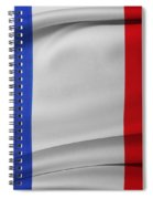French Flag  Spiral Notebook