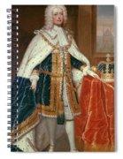George II (1683-1760) Spiral Notebook