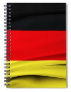 German Flag Spiral Notebook
