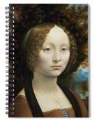 Ginevra De' Benci Spiral Notebook