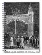 Golden Jubilee, 1887 Spiral Notebook